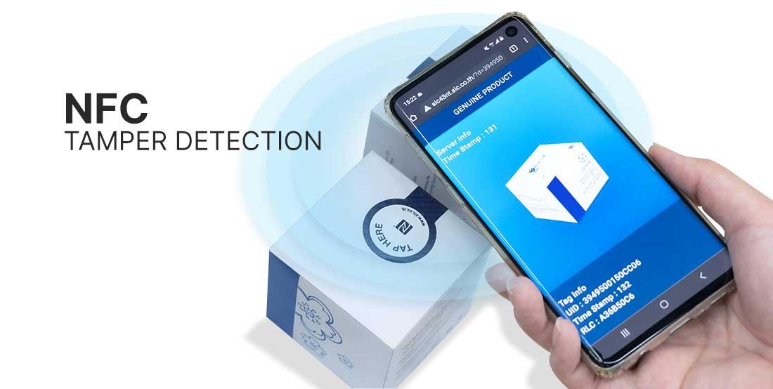 NFC tamper detection